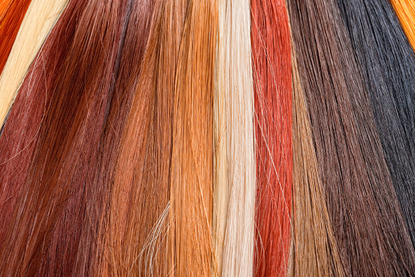Multi Colored Hair Extensions