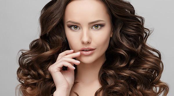 Curly Hair Brunette 34