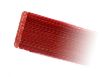 Red Tape In Hair Extension