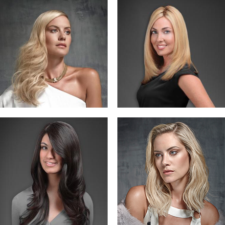 long blonde and brunette hair extensions