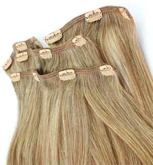 Clip for hair extensions