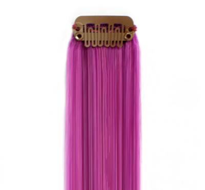 Bright Colored Clip In Hair Extensions