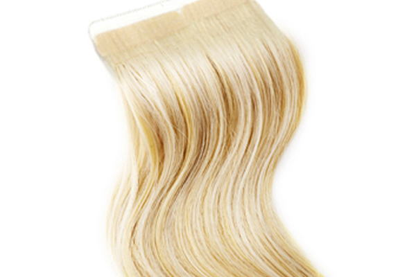 Blonde Hair Piece 114