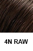 Brown Highlights Color Swatch 4N-raw