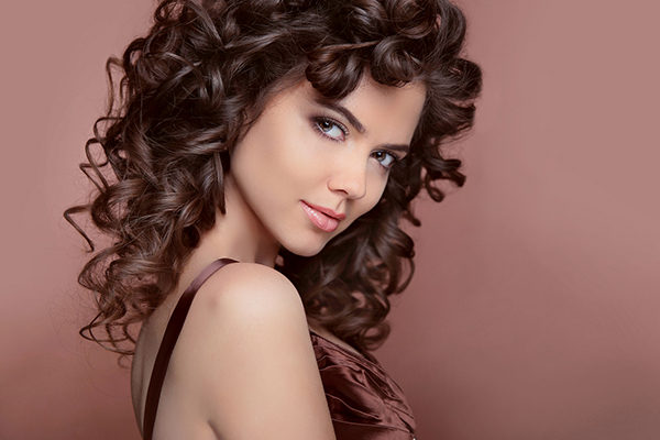 Create Curly Styles with Hair Pieces