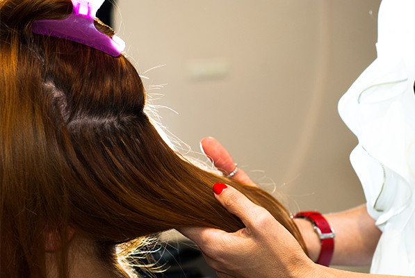 A Lesson In How Not To Care For Your Tape Hair Extensions