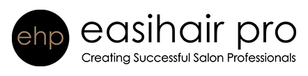 easihair pro website logo creating successful salon professionals
