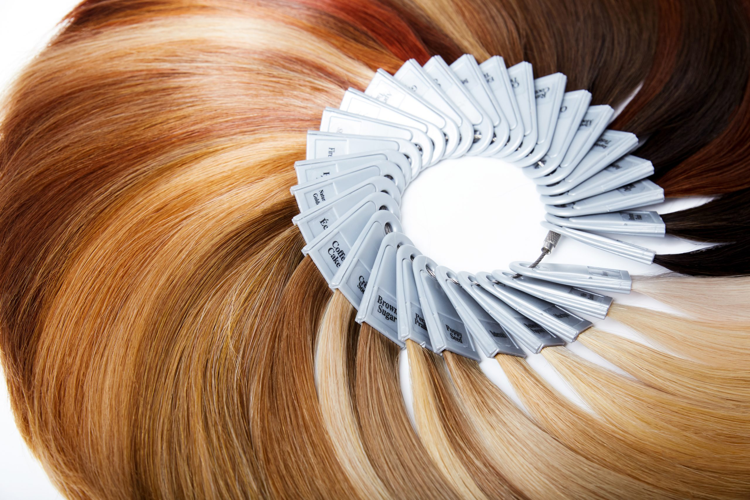 hair extensions color ring