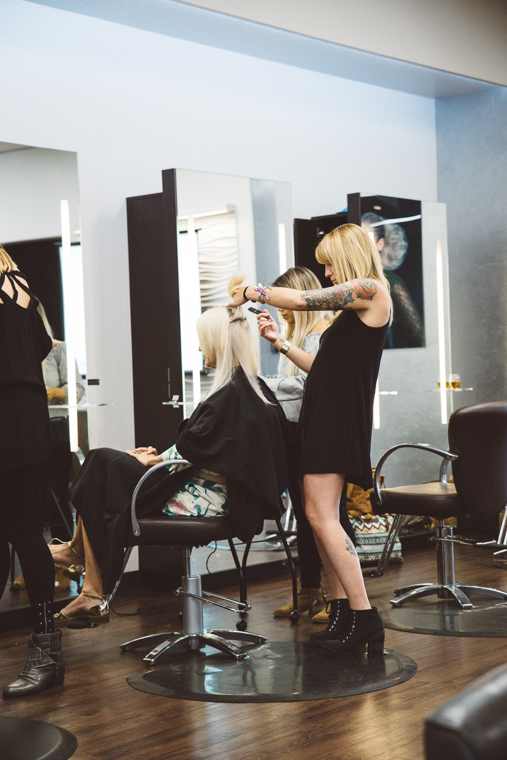 why hairstylists love tape in hair extensions