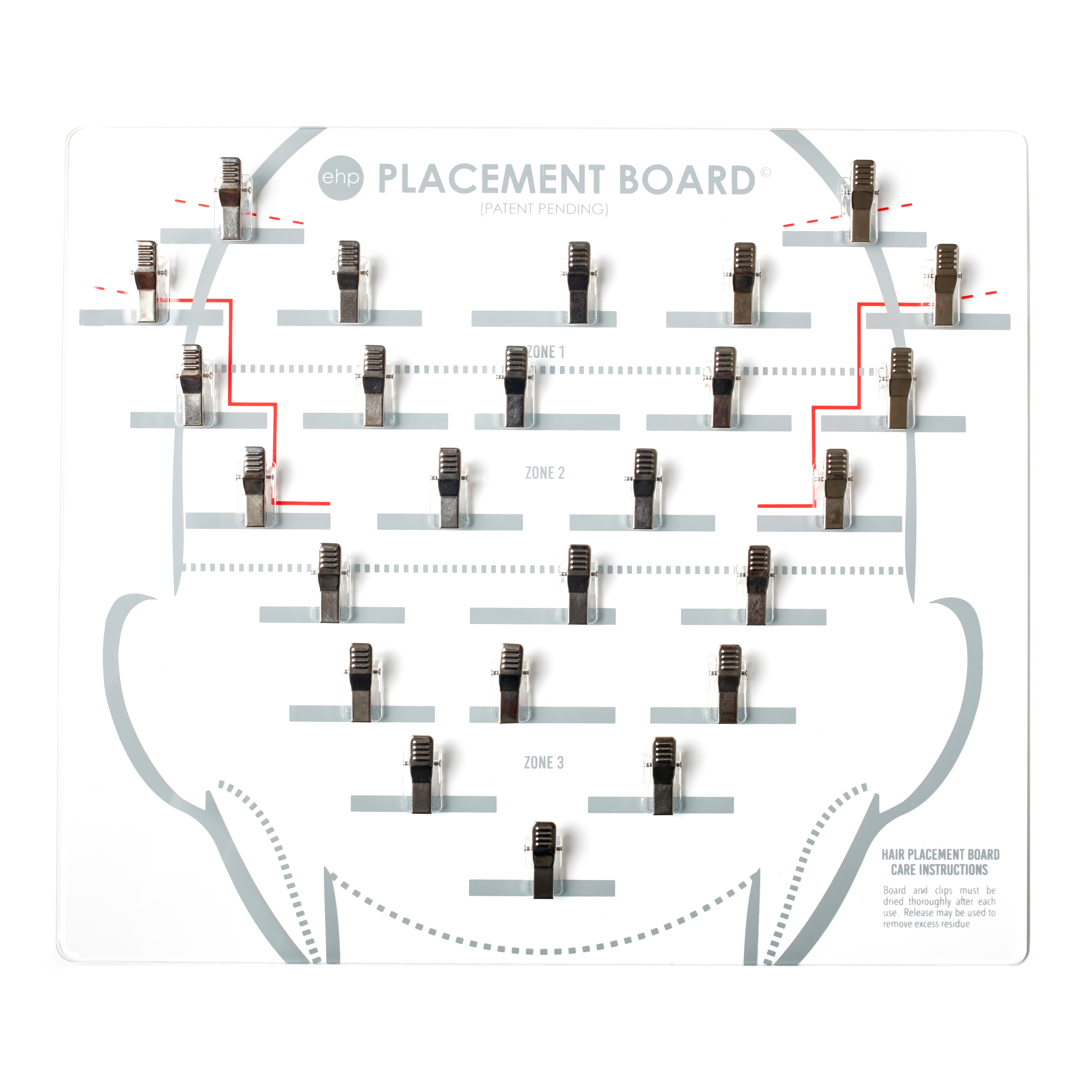 Placement Board Easihair Pro Hair Extensions