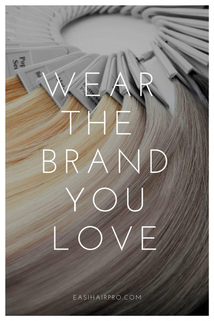 pin it wear the brand you love t-shirt