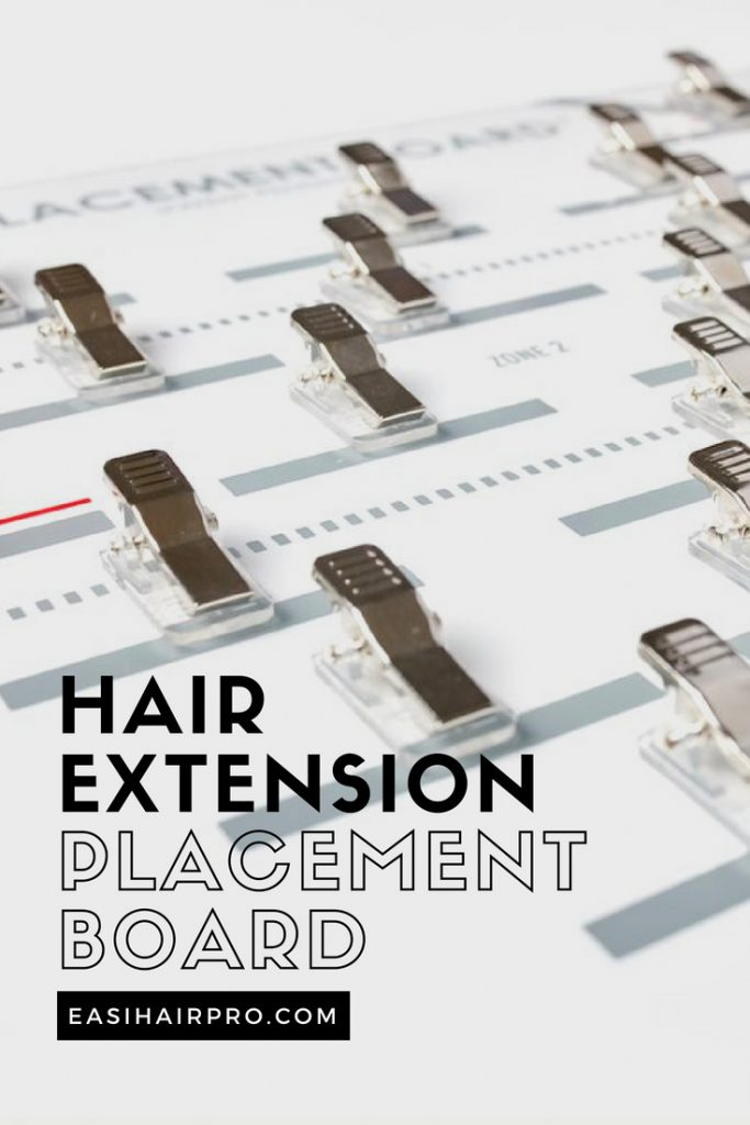 Pin it Hair Extension Placement Board