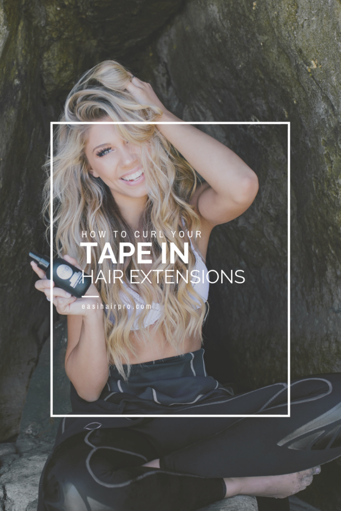 Pin it How To Curl Your Tape In Hair Extensions
