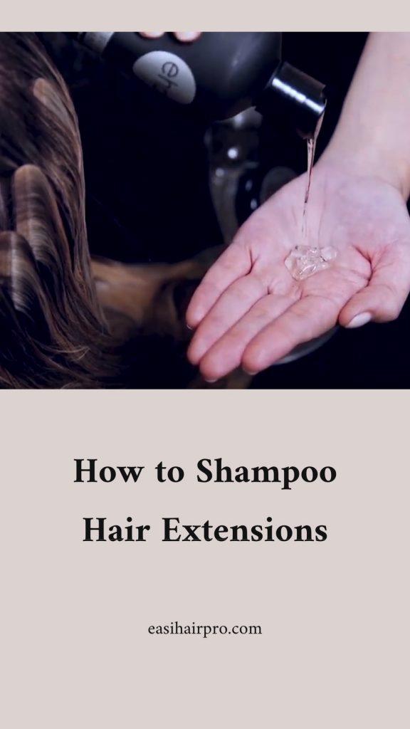 Pin it shampoo hair extensions