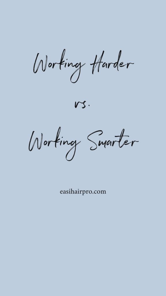 pin it working harder vs working smarter lance courtney