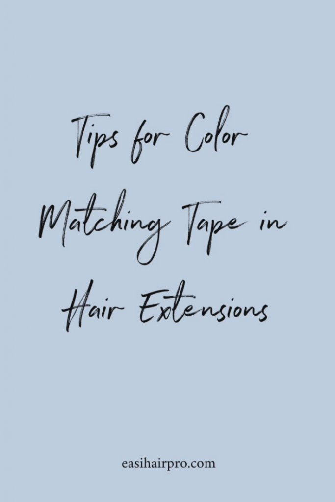pin it how to color match