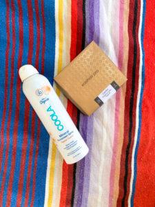 Hair Extension Safe Sunscreen